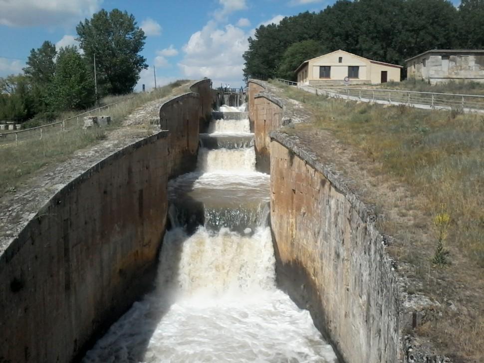 Frómista. Canal de Castilla