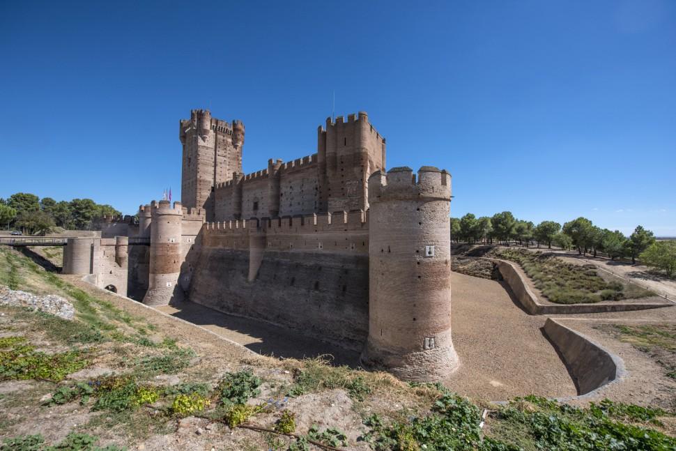Castillo de la Mota. Medina del Campo - Rueda
