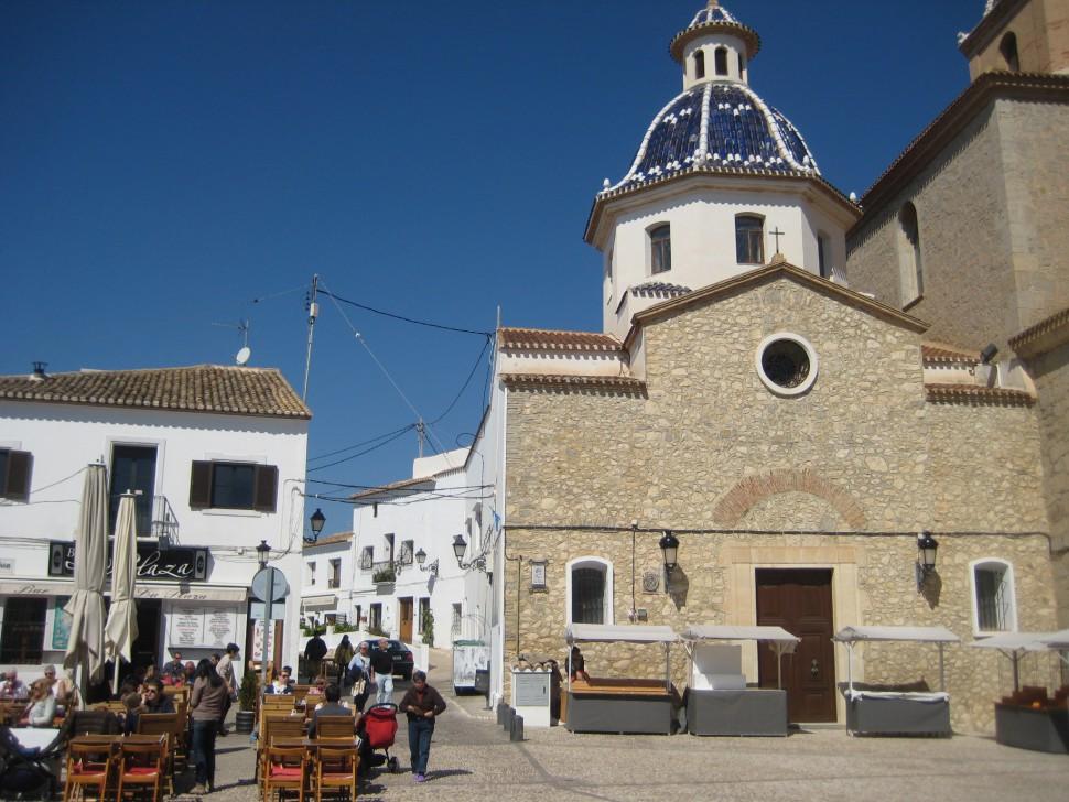 Iglesia de la Virgen de la Consolación de Altea. Viajar a Altea