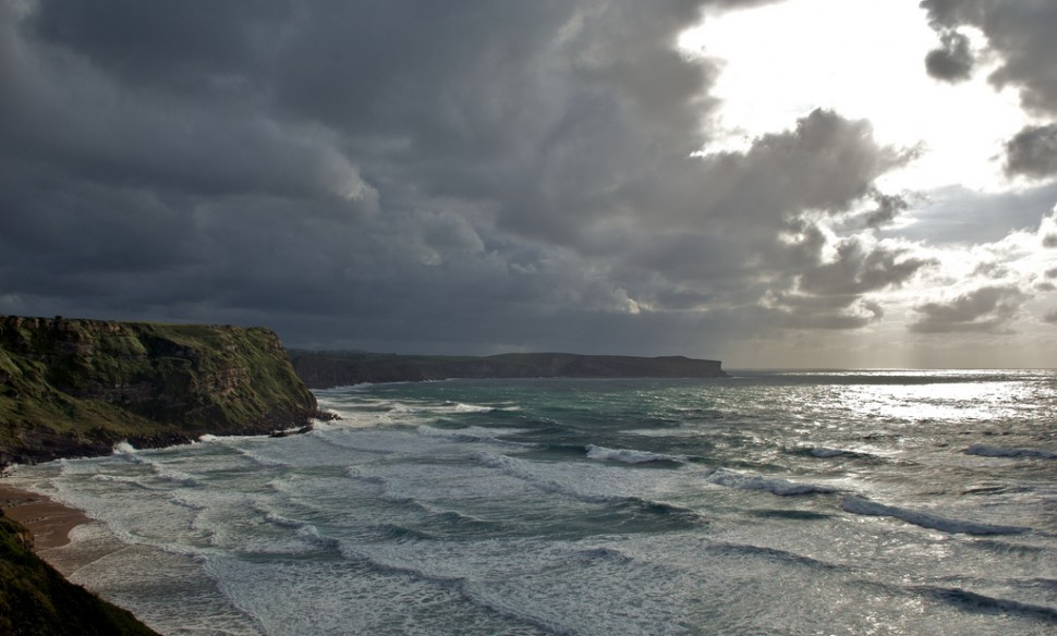 Playa de Los Locos. Suances. Surf en Cantabria