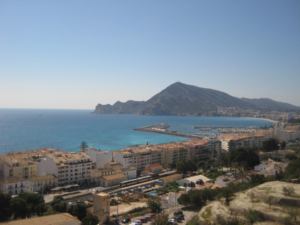 Vistas panorámicas de Altea. Viajar a Altea
