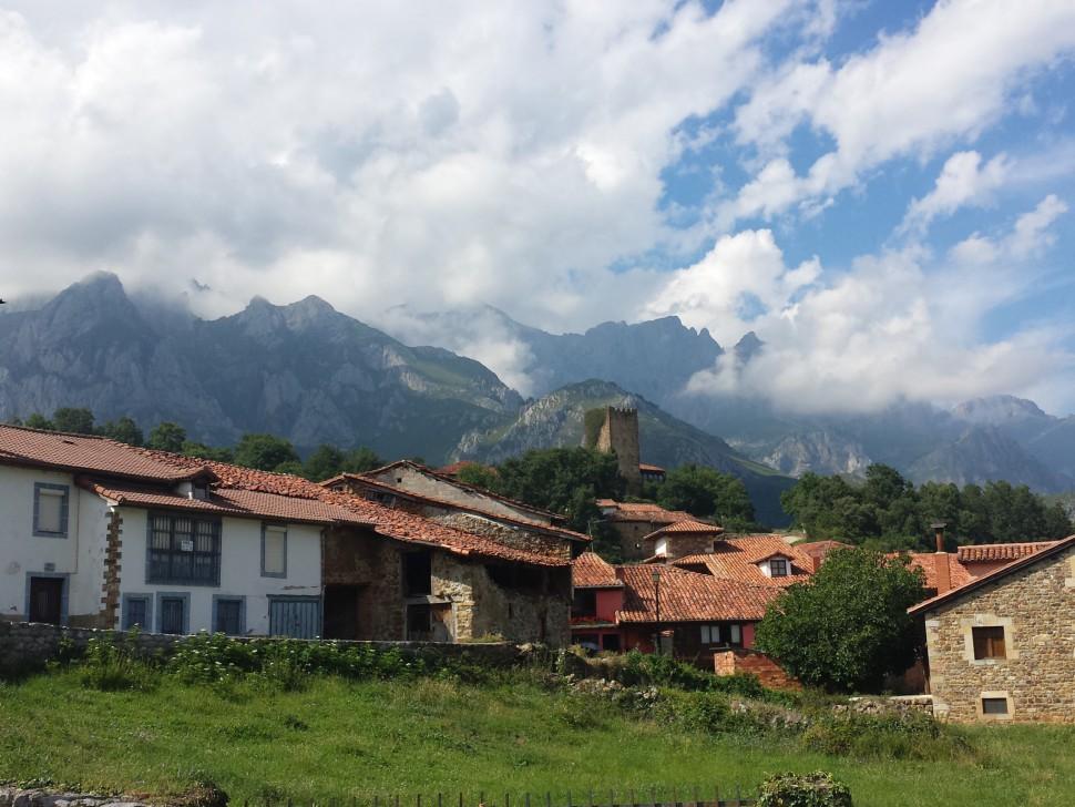Mogrovejo. Heidi en Cantabria
