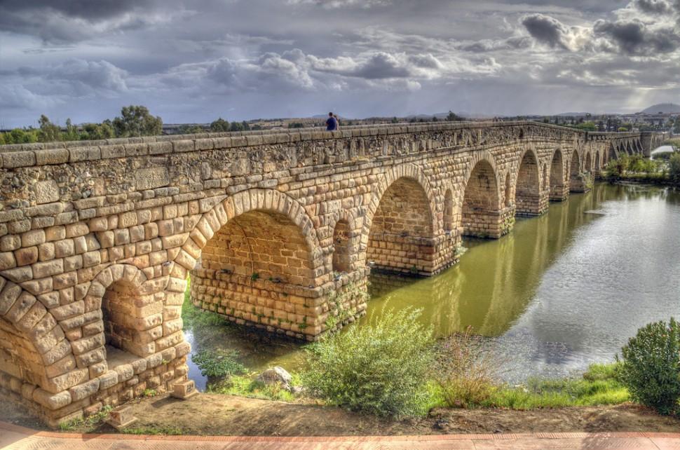 Puente Romano de Mérida. Turismo Mérida Badajoz
