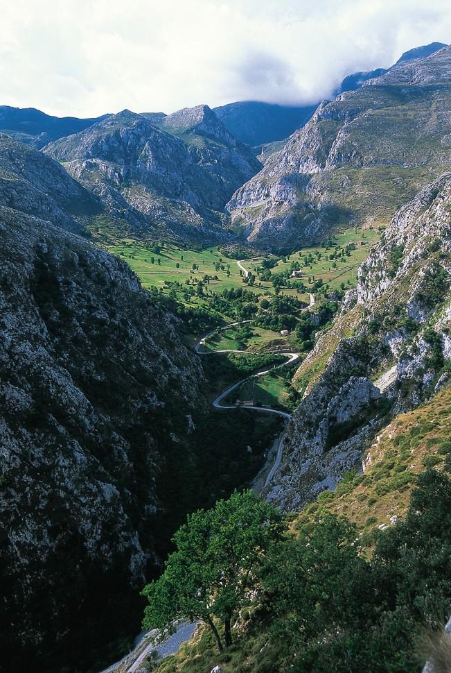 Subida a Tresviso. Picos de Europa. Cantabria
