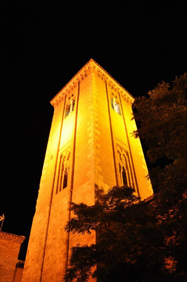 Torre santo Domingo. Turismo Zaragoza