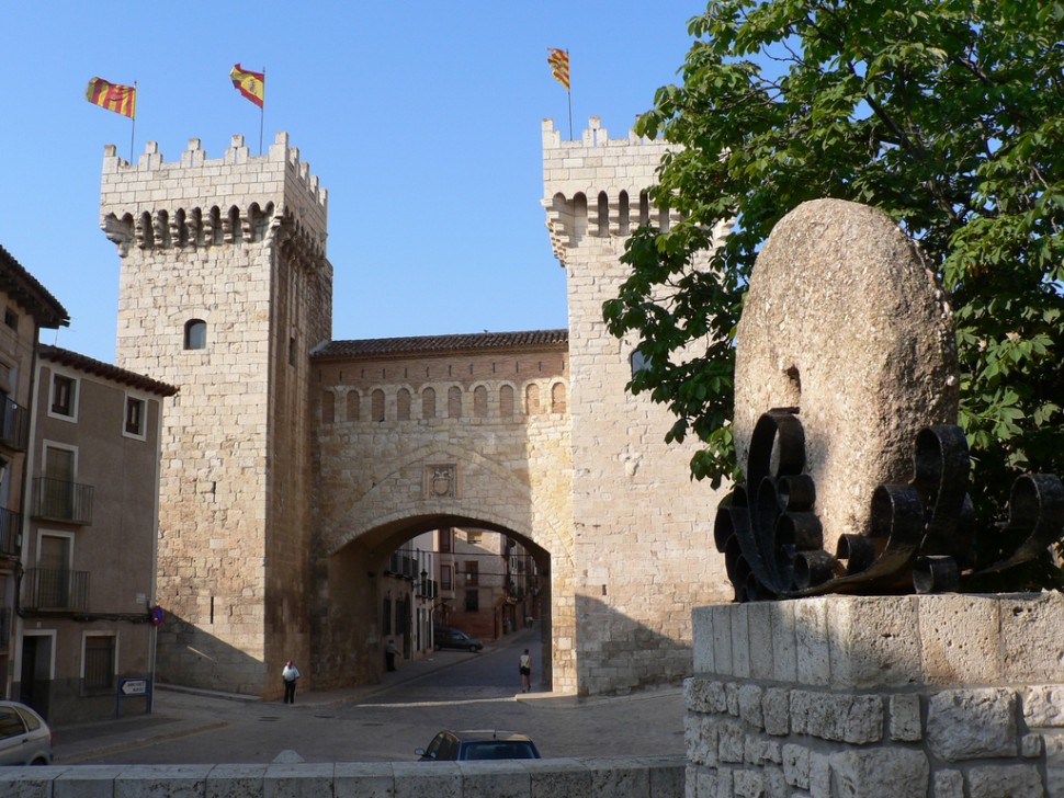 Puerta baja. Turismo Zaragoza