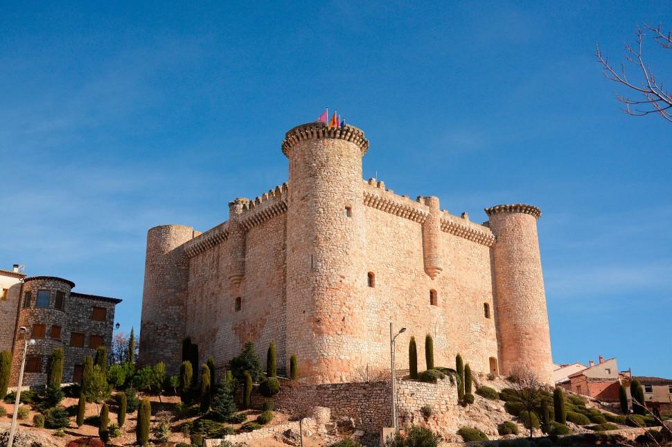 Castillo-de-Torija -Viaje-a-la-Alcarria - Turismo
