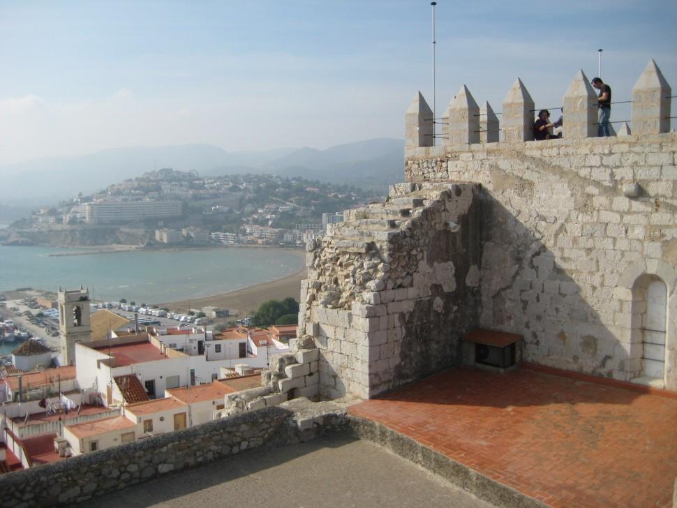 Castillo del Papa Luna. Visitar Peñíscola