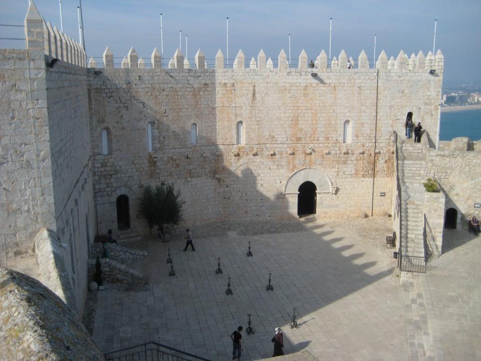 Castillo Papa Luna. Turismo Castellón