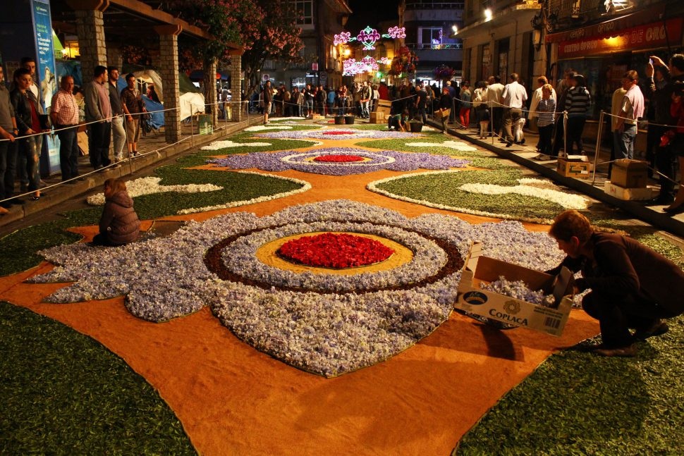 Corpus Ponteareas - Fiestas del Corpus en España