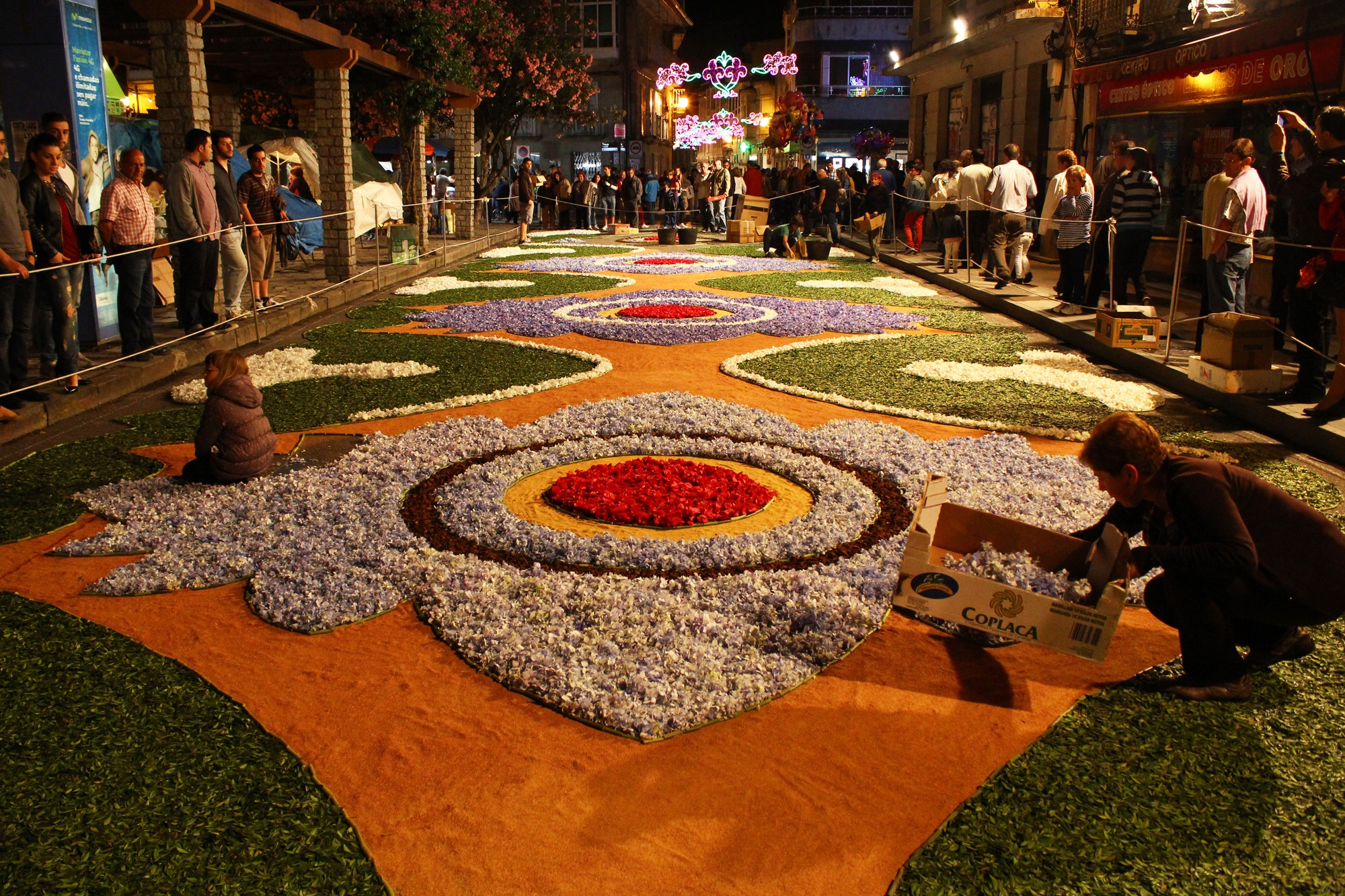 Corpus Ponteareas - Fiestas del Corpues en España