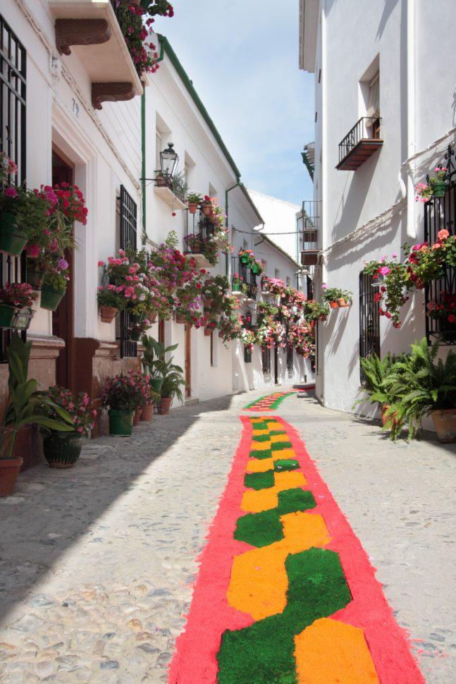 Corpus Christi Priego de Córdoba - Fiestas del Corpus en España