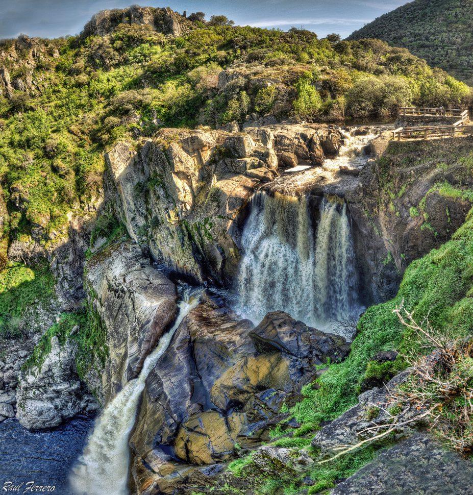 El Pozo de los Humos - Arribes del Duero - Cascadas ESpaña