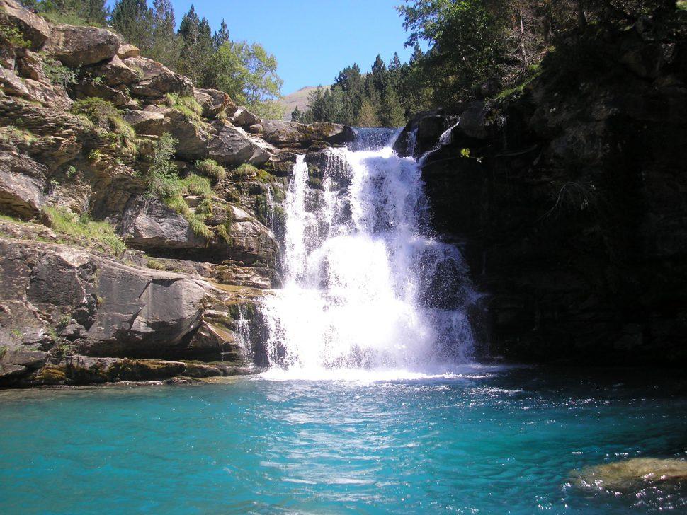 Gradas de Soaso - Parque Nacional de Ordesa y Monte Perdido - Cascadas en España