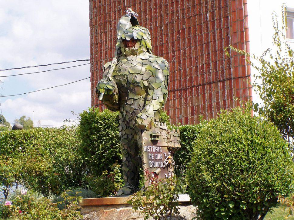 Hombres de Musgo - Béjar - Fiestas del Corpus en España