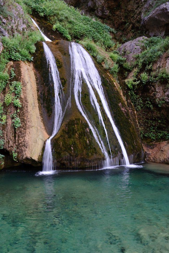 Nacimiento del río Mundo - Cascadas España