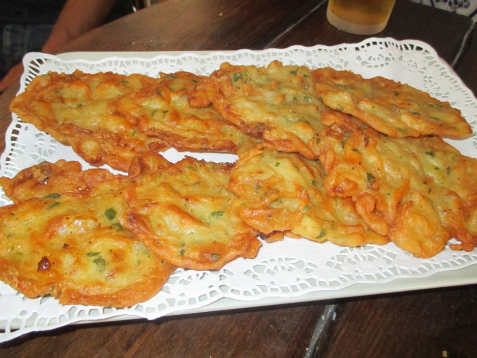 Tortillitas de camaron - Gastronomia Cadiz - Los Barrios Cádiz