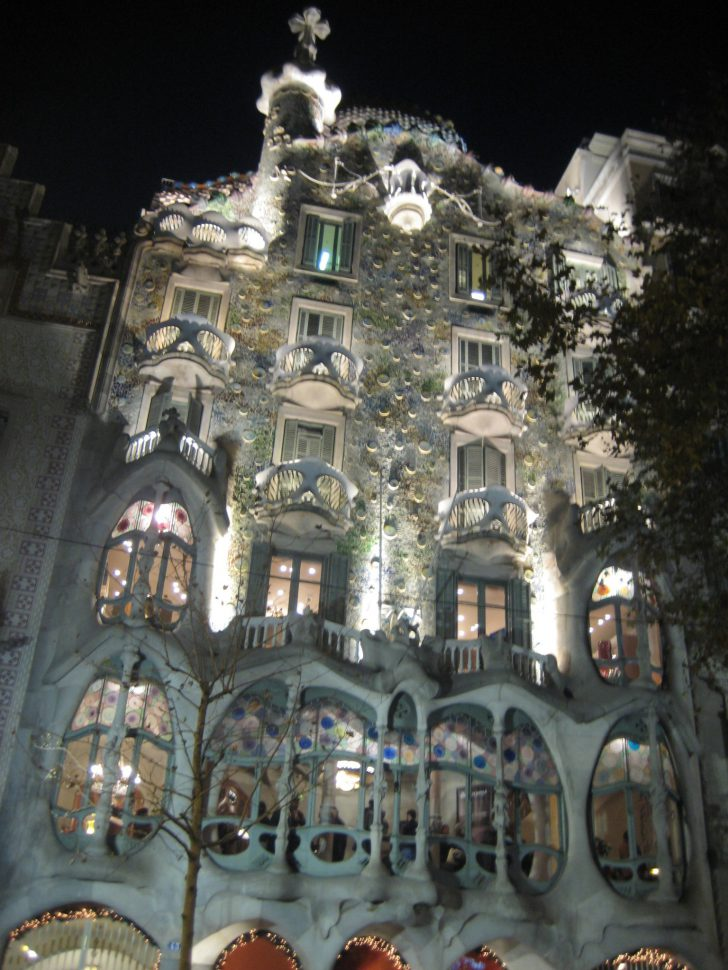 Casa Batlló de Gaudí. Turismo Barcelona
