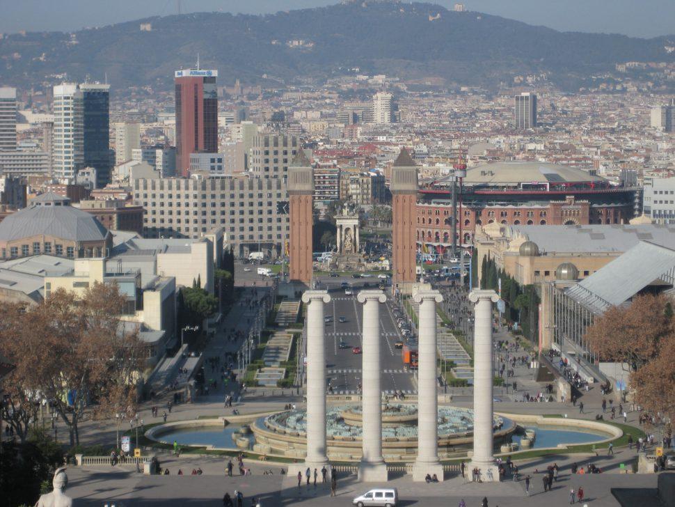 Plaza España. Turismo Barcelona