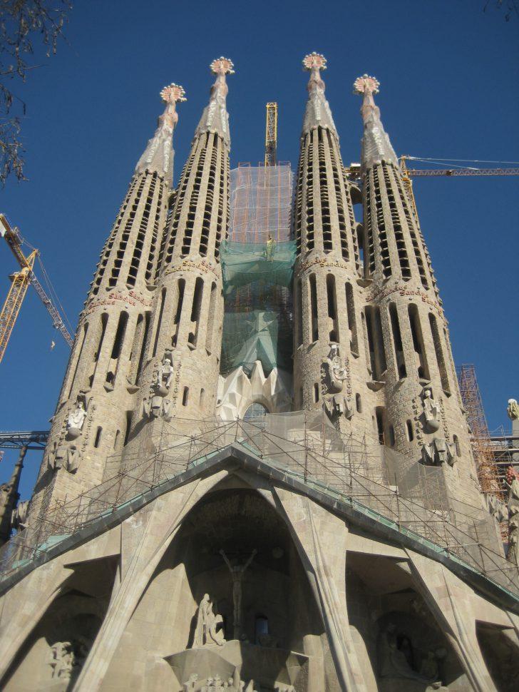 La Sagrada Familia. Turismo Barcelona