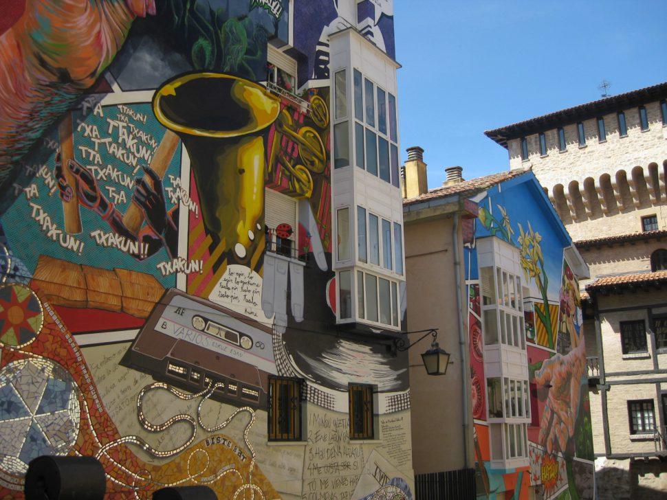 Murales La ciudad Pintada - Turismo Vitoria