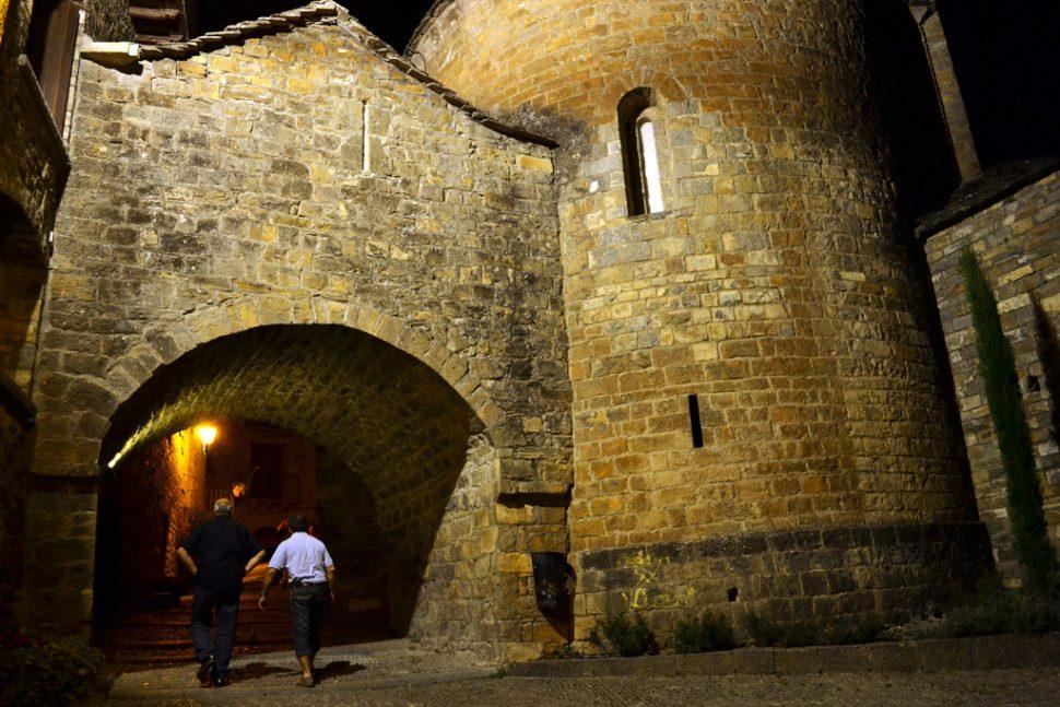 Iglesia de Santa María Ainsa. Turismo Huesca