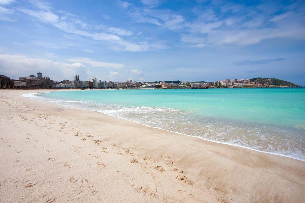 Qué visitar en La Coruña. Playas