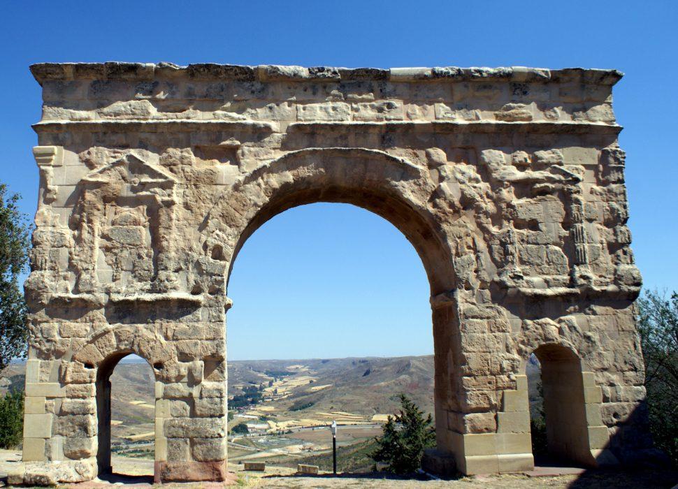 Arco romano de medinaceli. Medinaceli Turismo