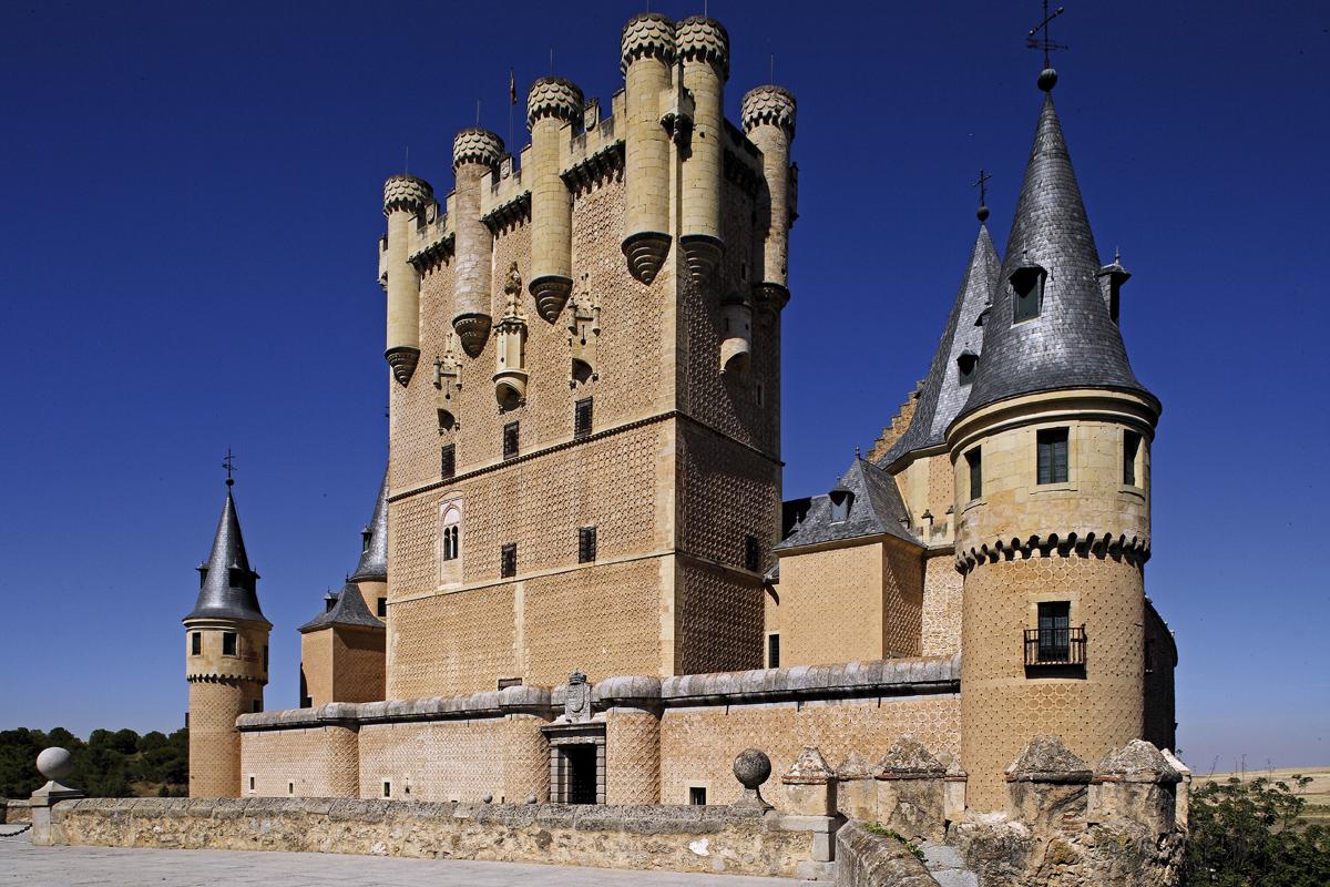 Alcázar de Segovia - destinos fin de semana España