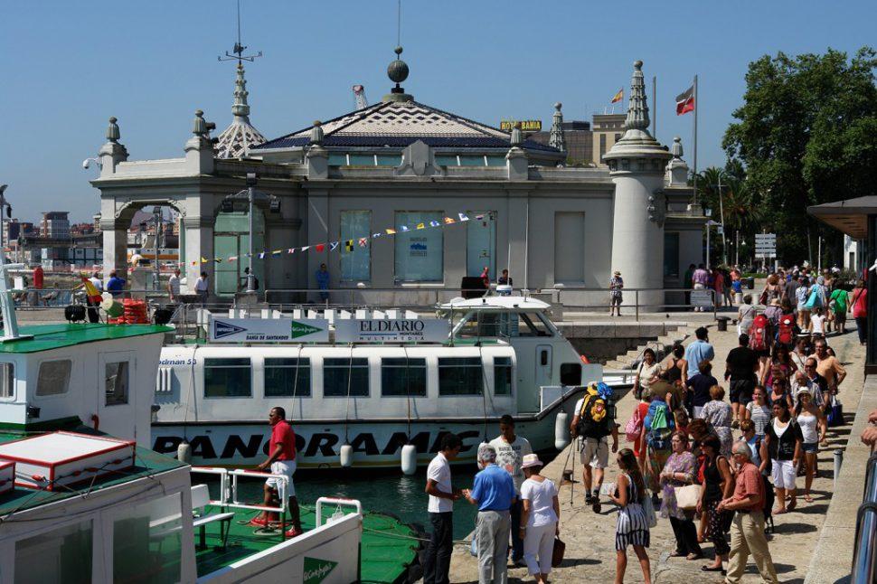 Palacete del embarcadero - Qué ver en Santander