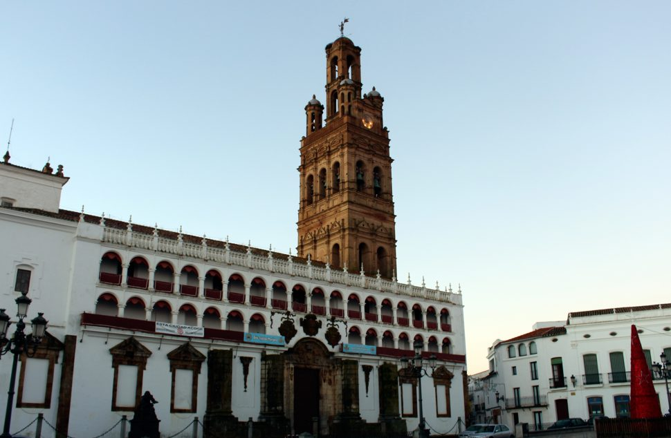 Plaza Mayor de Llerena - Visitar Badajoz - Visitar Extremadura
