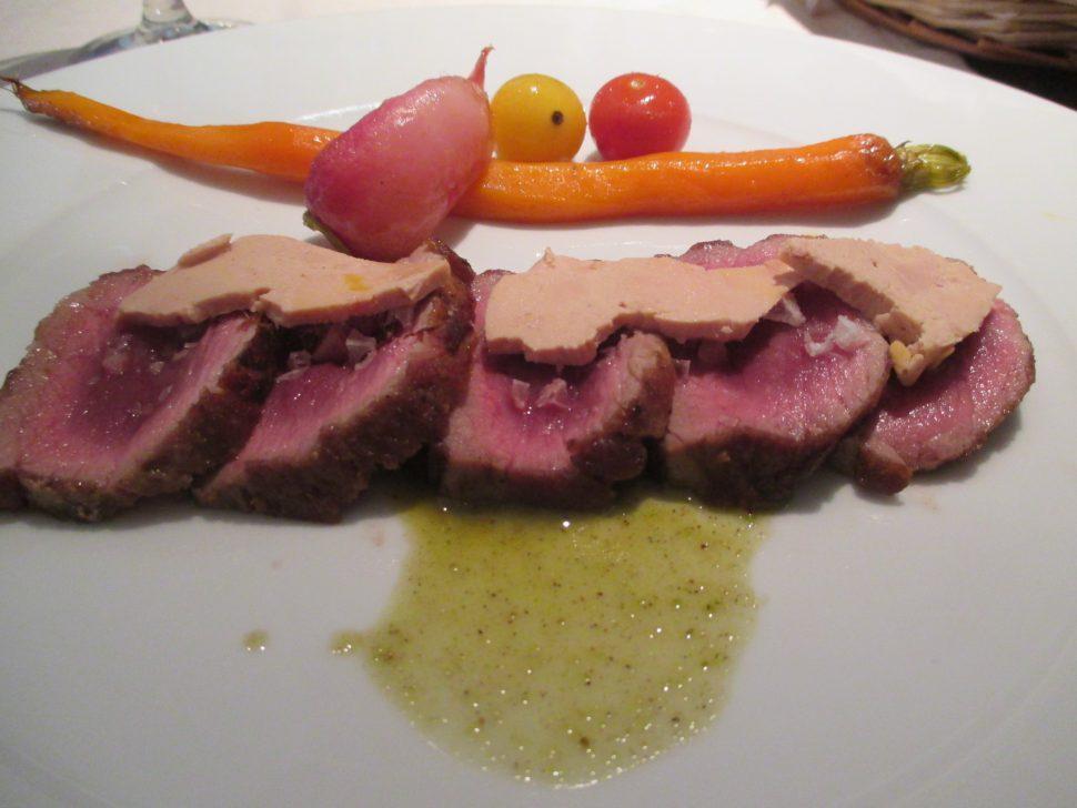 Tataki de presa Ibérica - Restaurante El Rinconcillo