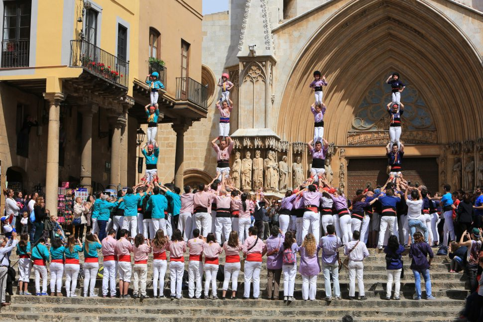Castells de Tarragona. Imagen vía Tarragona Turisme