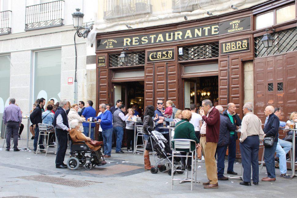 Tabernas Centenarias - Visitar Madrid - Madrid lugares de interés