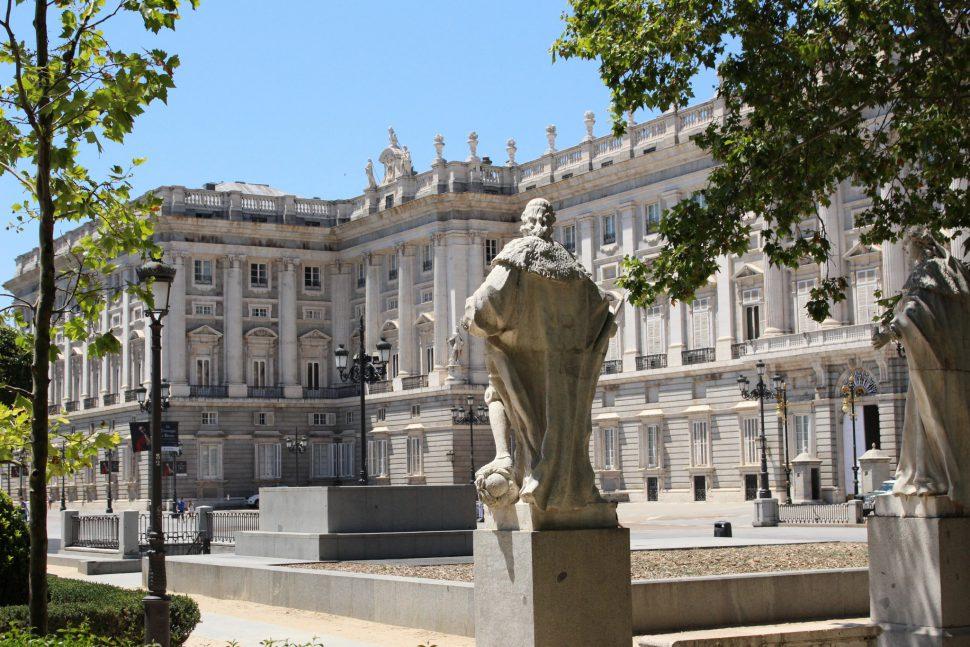 Jardines de Oriente - Visitar Madrid