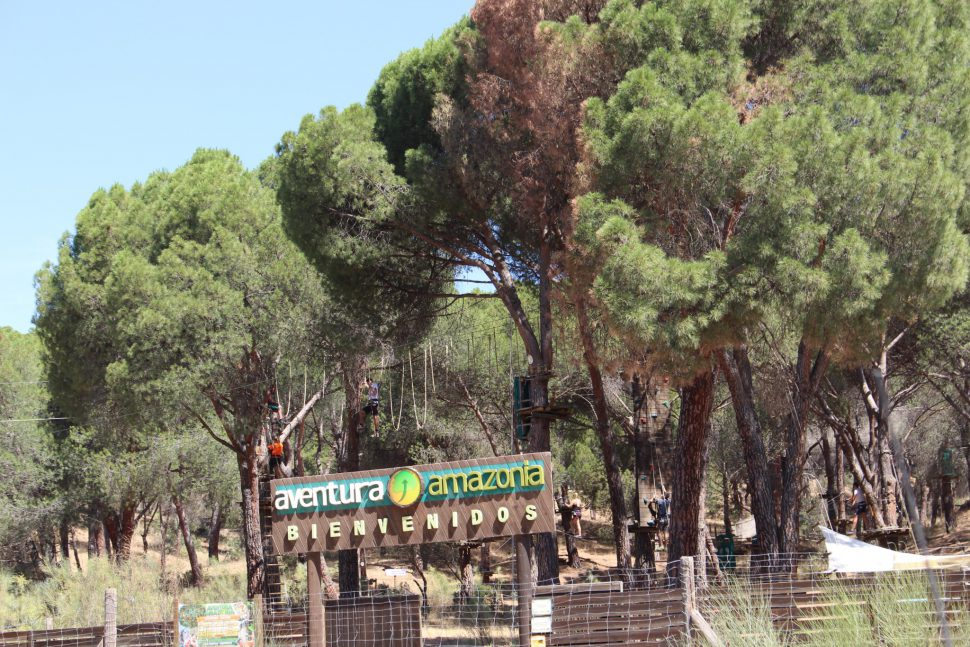 Aventura Amazonia -Sierra Oeste Madrid