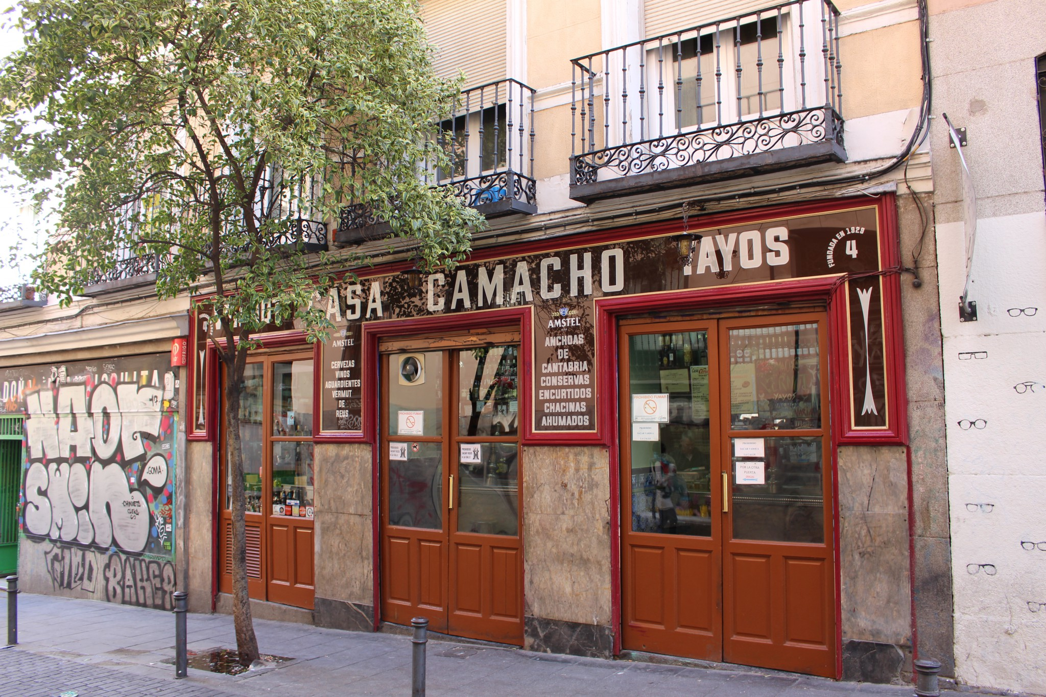 Casa Camacho - Tabernas Madrid