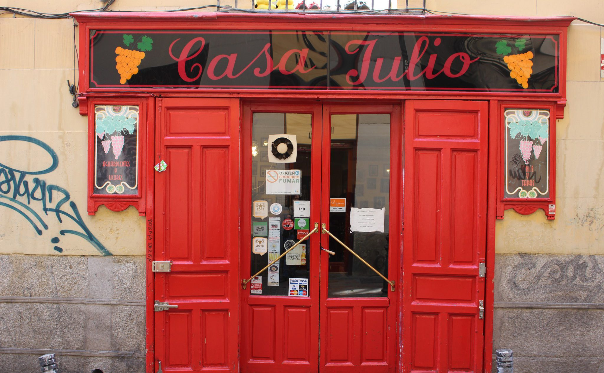 Casa Julio - Tabernas Madrid