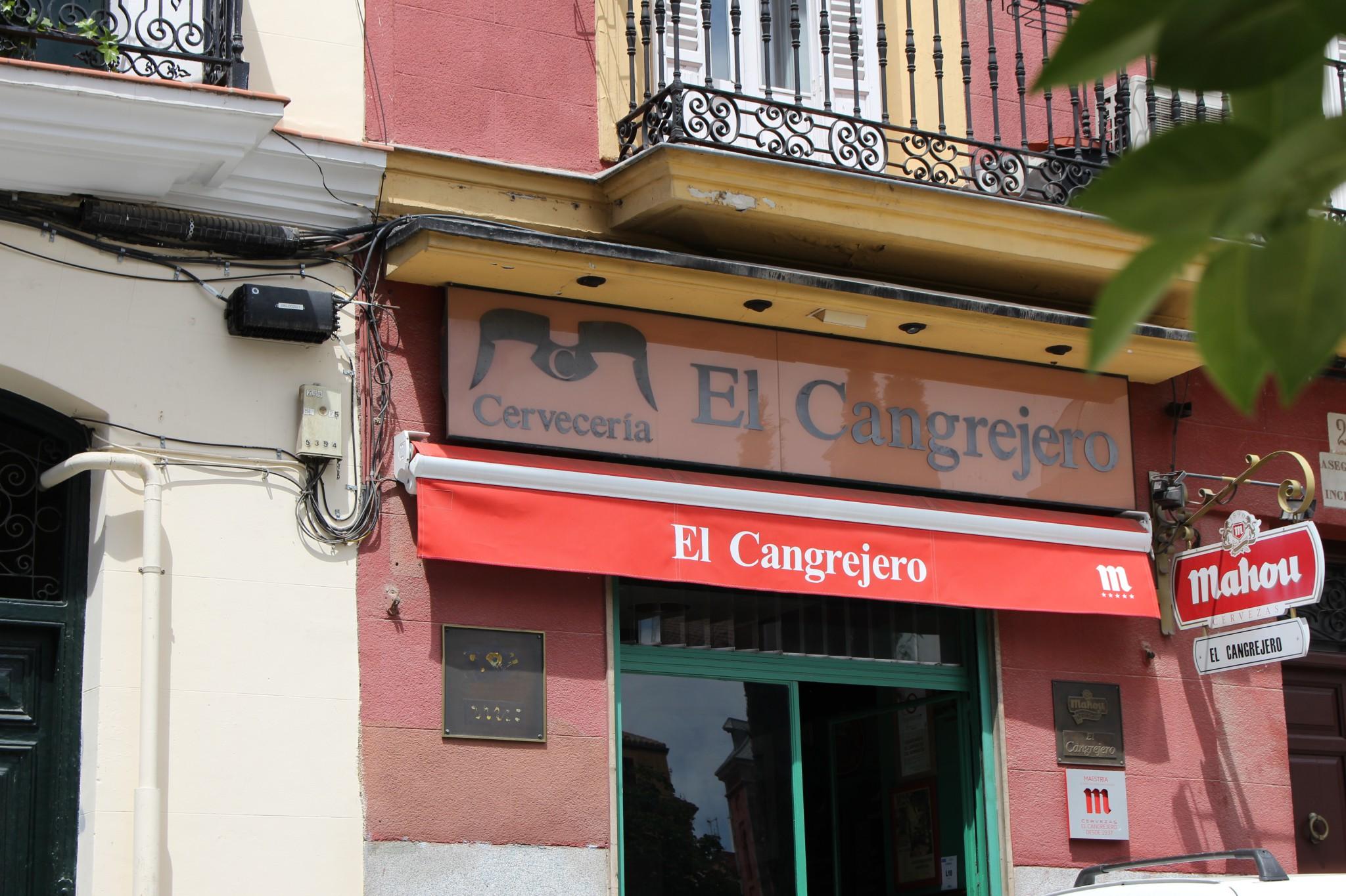 Cervecería el Cangrejero - Tabernas Madrid