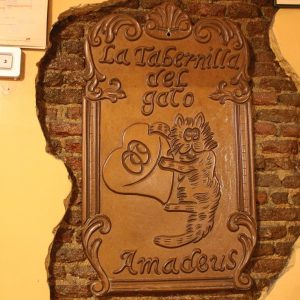 La Tabernilla del Gato Amadeus - Tabernas Madrid