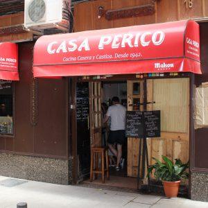 Taberna Restaurante Casa Perico - Tabernas Madrid