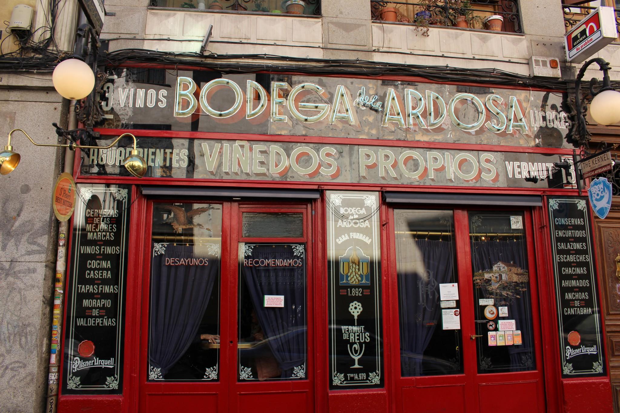 Taberna La Ardosa - Tabernas Centenarias Madrid