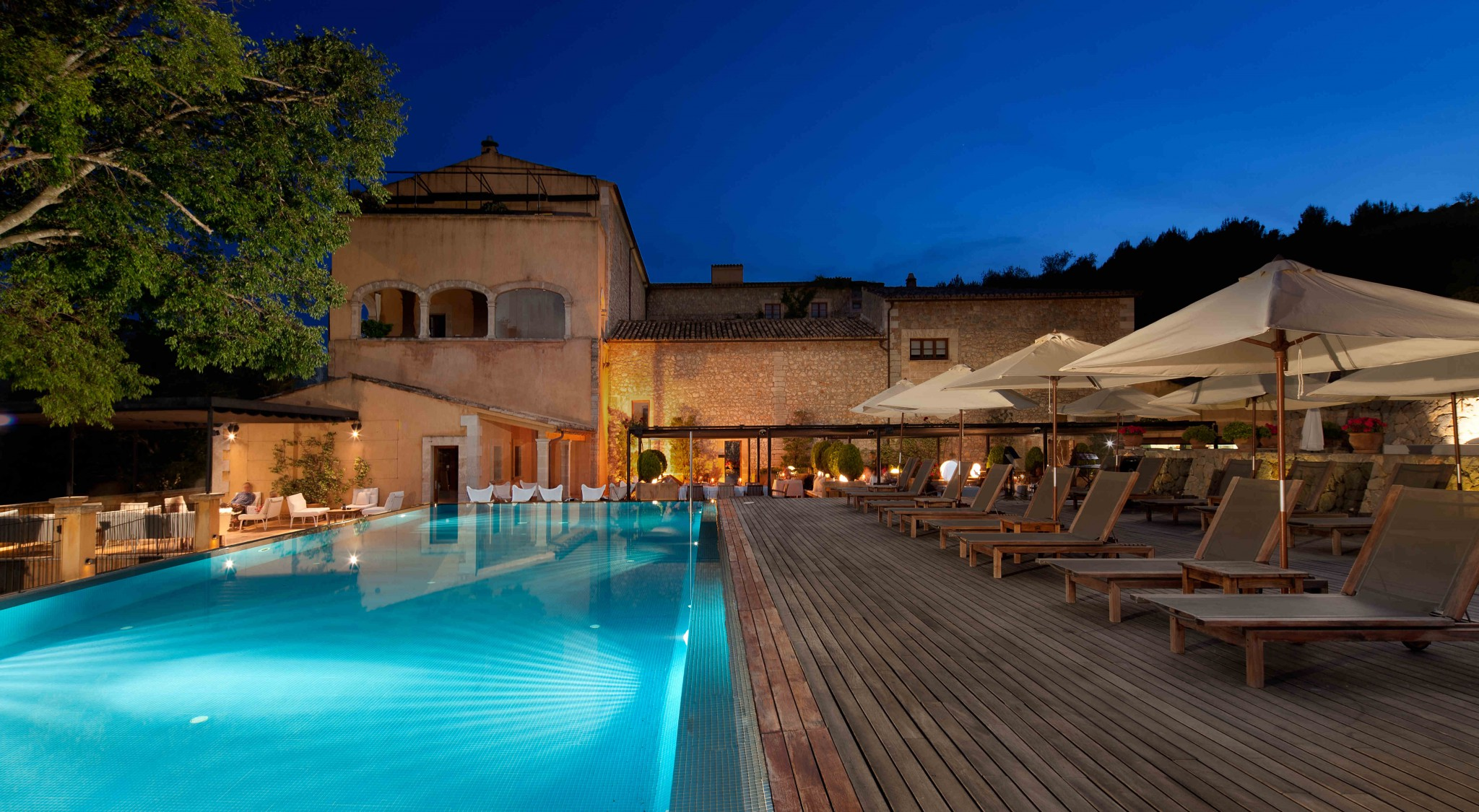Hoteles con encanto en mallorca son brull en la sierra de tramuntana - Hoteles con encanto y piscina ...