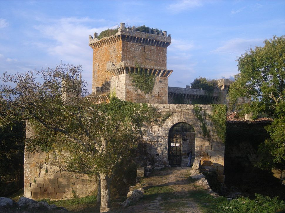 Castillo de Pambre - Camino de Santiago