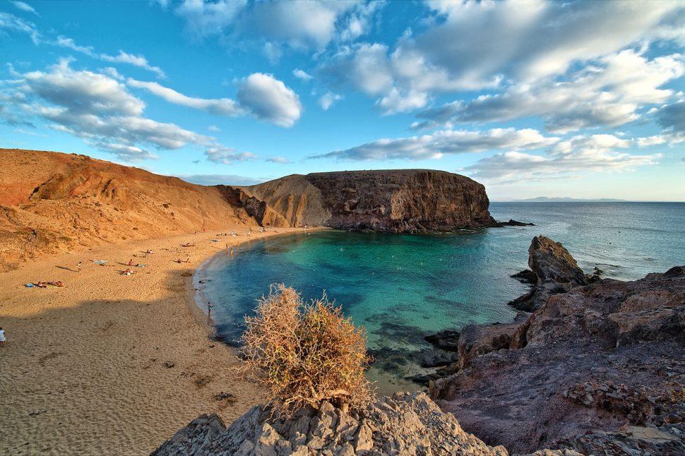 Lanzarote - viajar en avión por España
