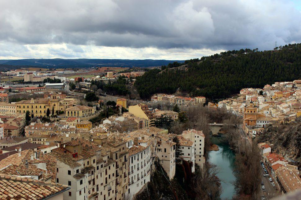 Visitar Cuenca - Panorámica desde el Barrio del Castillo