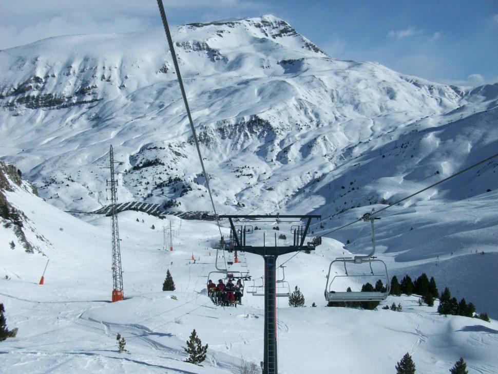 estaciones de esquí Pirineos