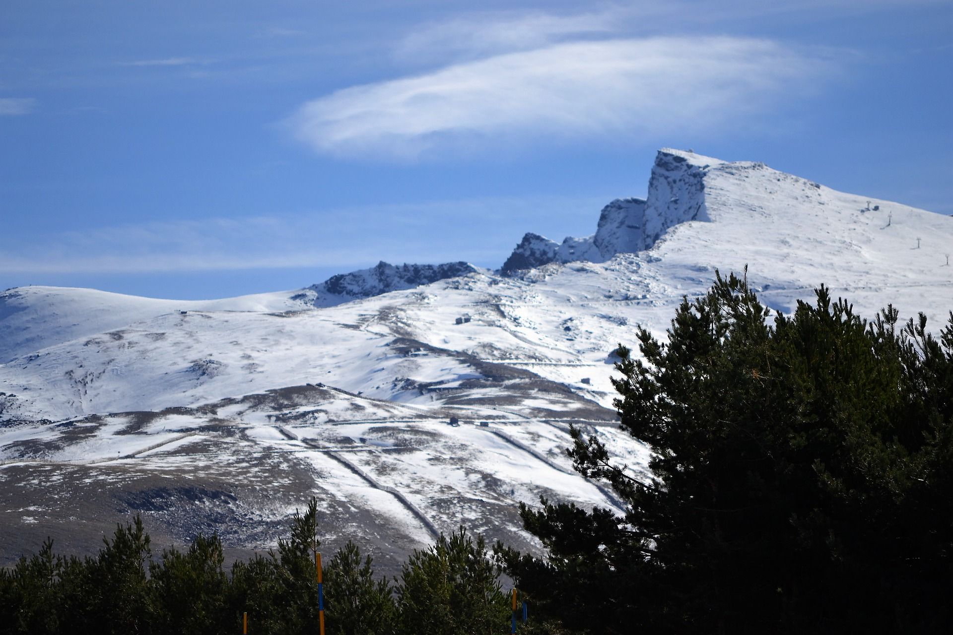 Sierra Nevada - esquiar