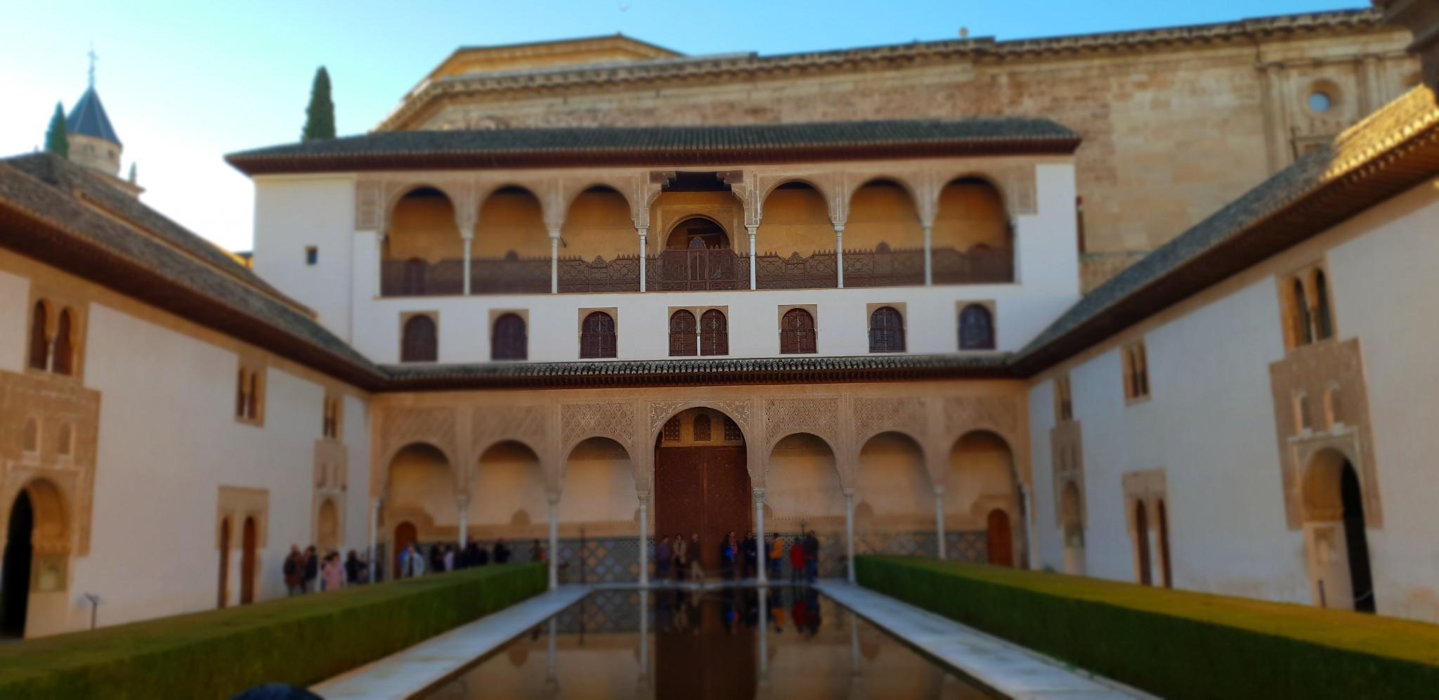 Patio de los Arrayanes - Visitar Alhambra - Visitar Granada