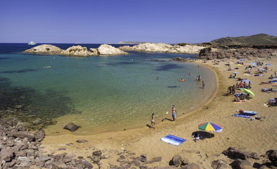 Menorca calas - Cala Pregonda